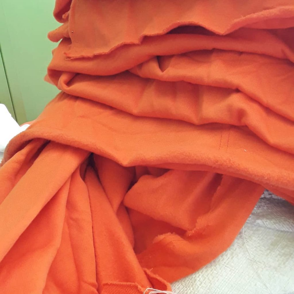 bahan kain cotton fleece untuk hoodie