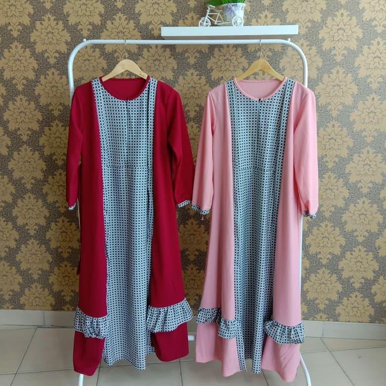 gamis kain baby terry batik