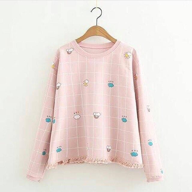 harga sweater babyterry wanita