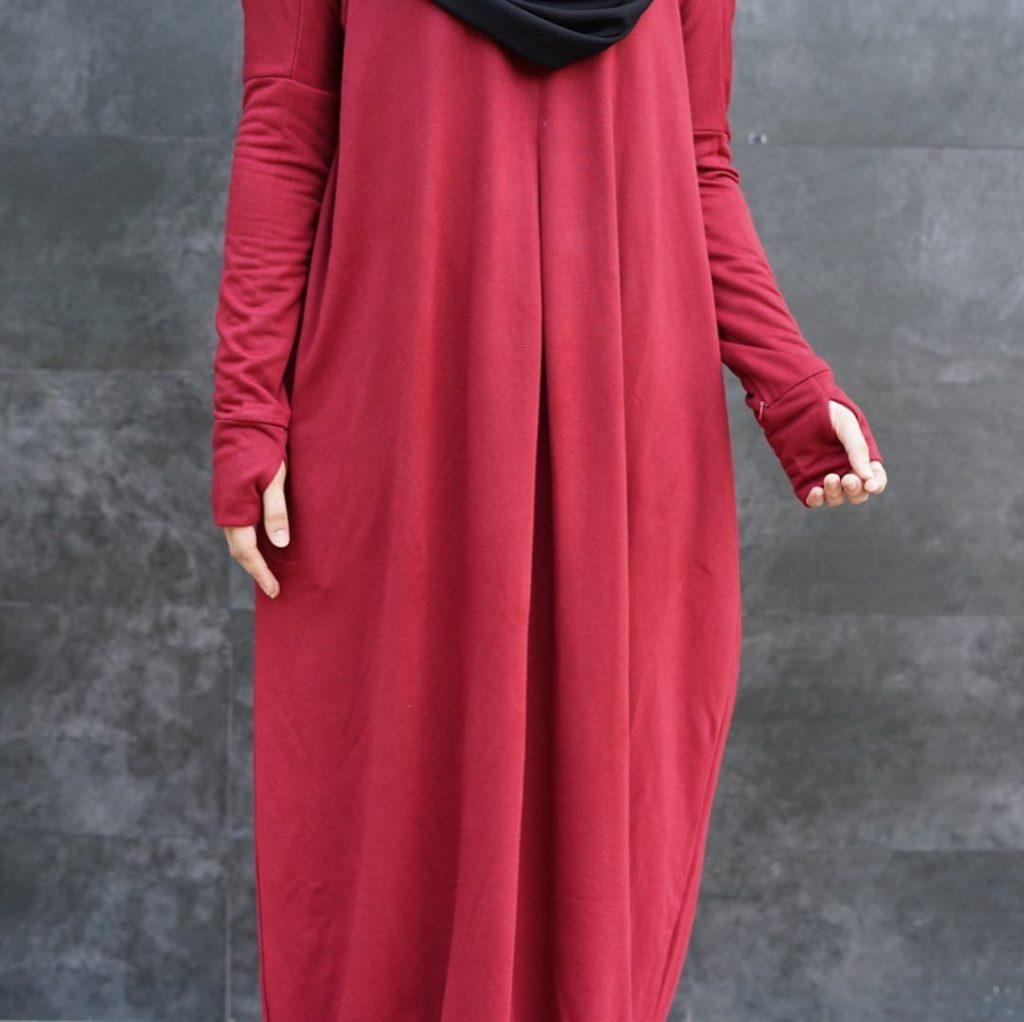 hijab bahan babyterry