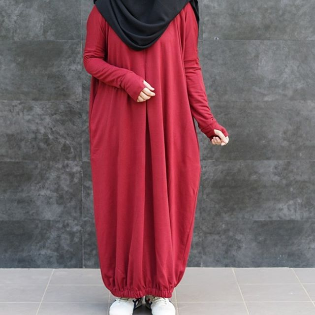 hijab kain babyterry