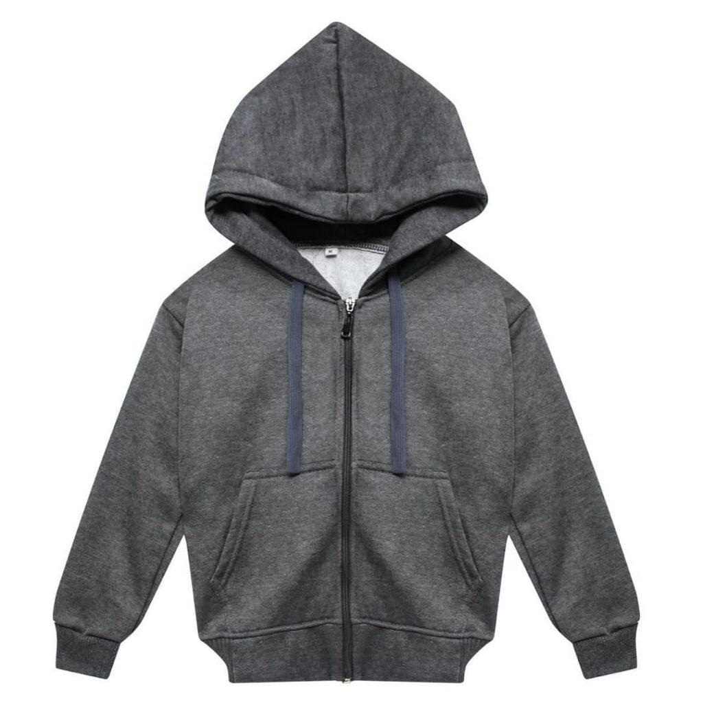 hoodie bahan cvc fleece
