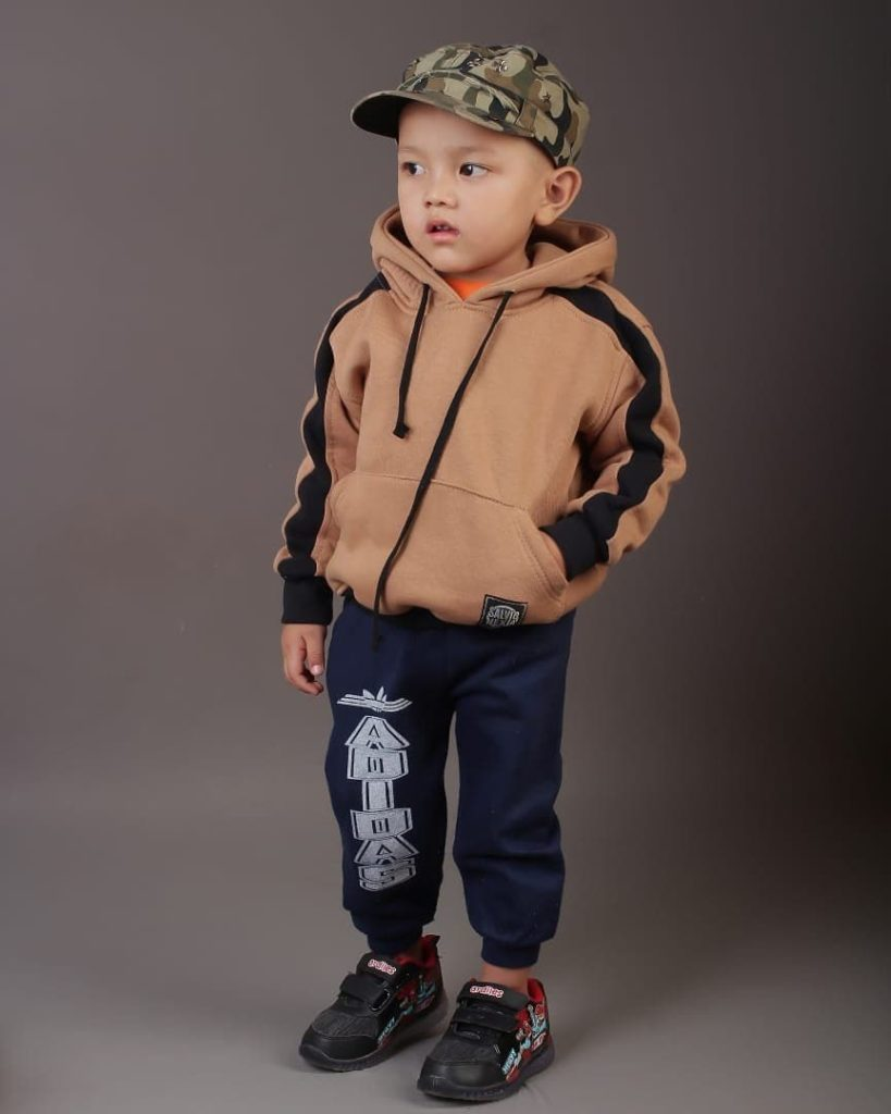 jaket anak bahan fleece
