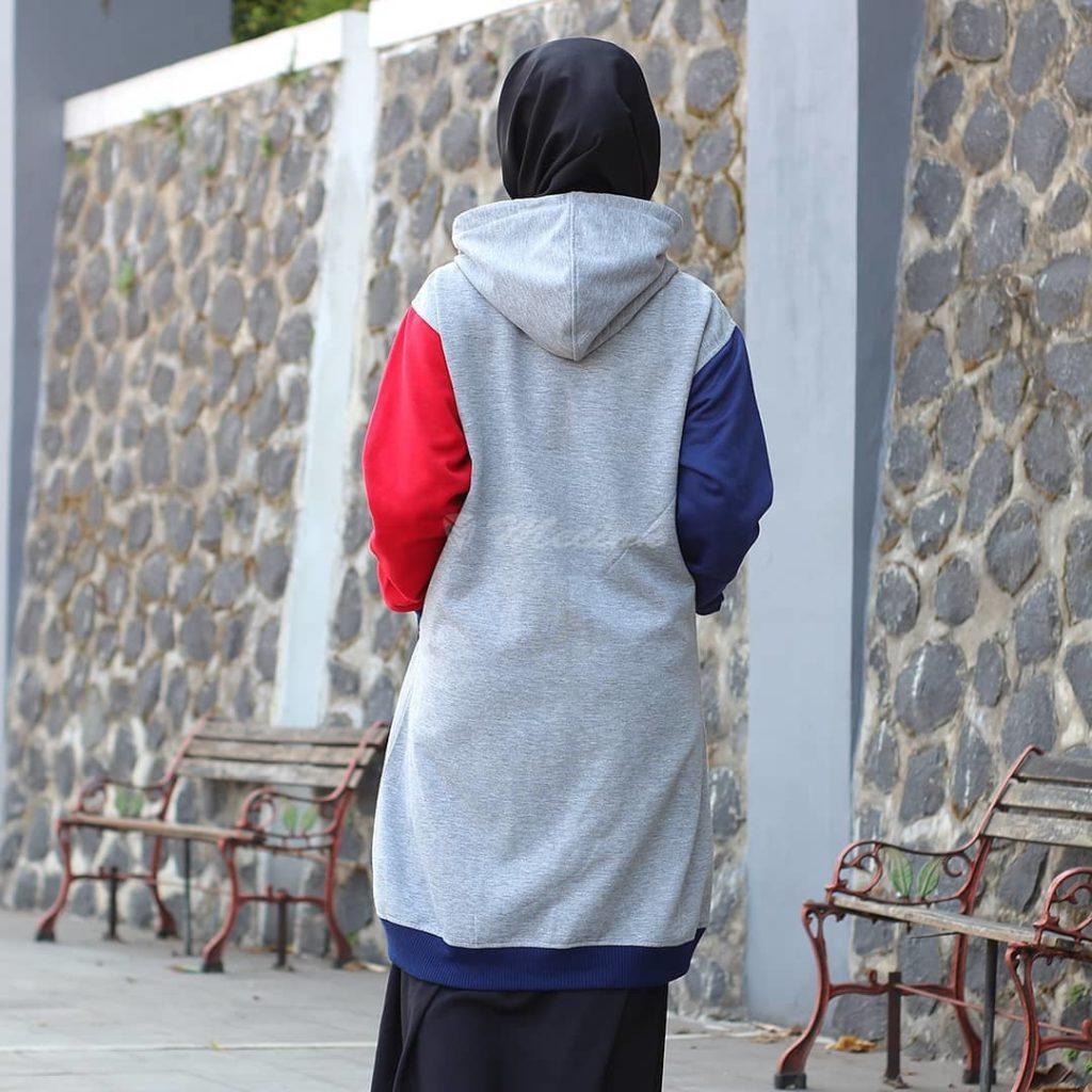 jaket perempuan fleece premium