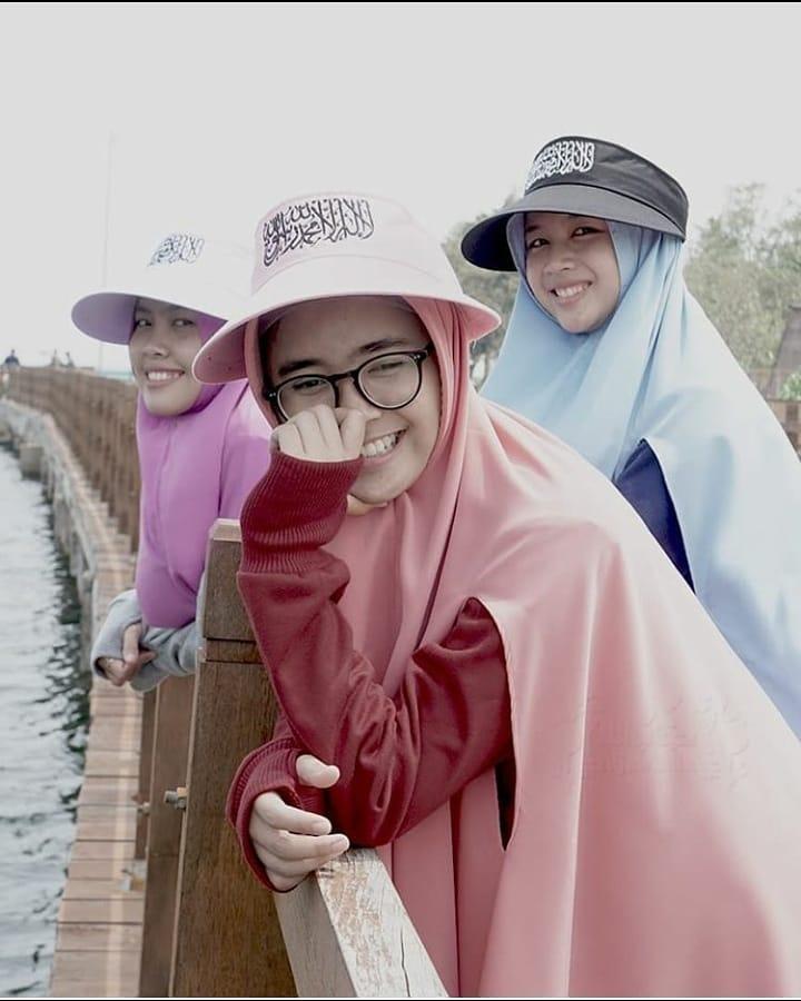 jilbab bahan babyterry
