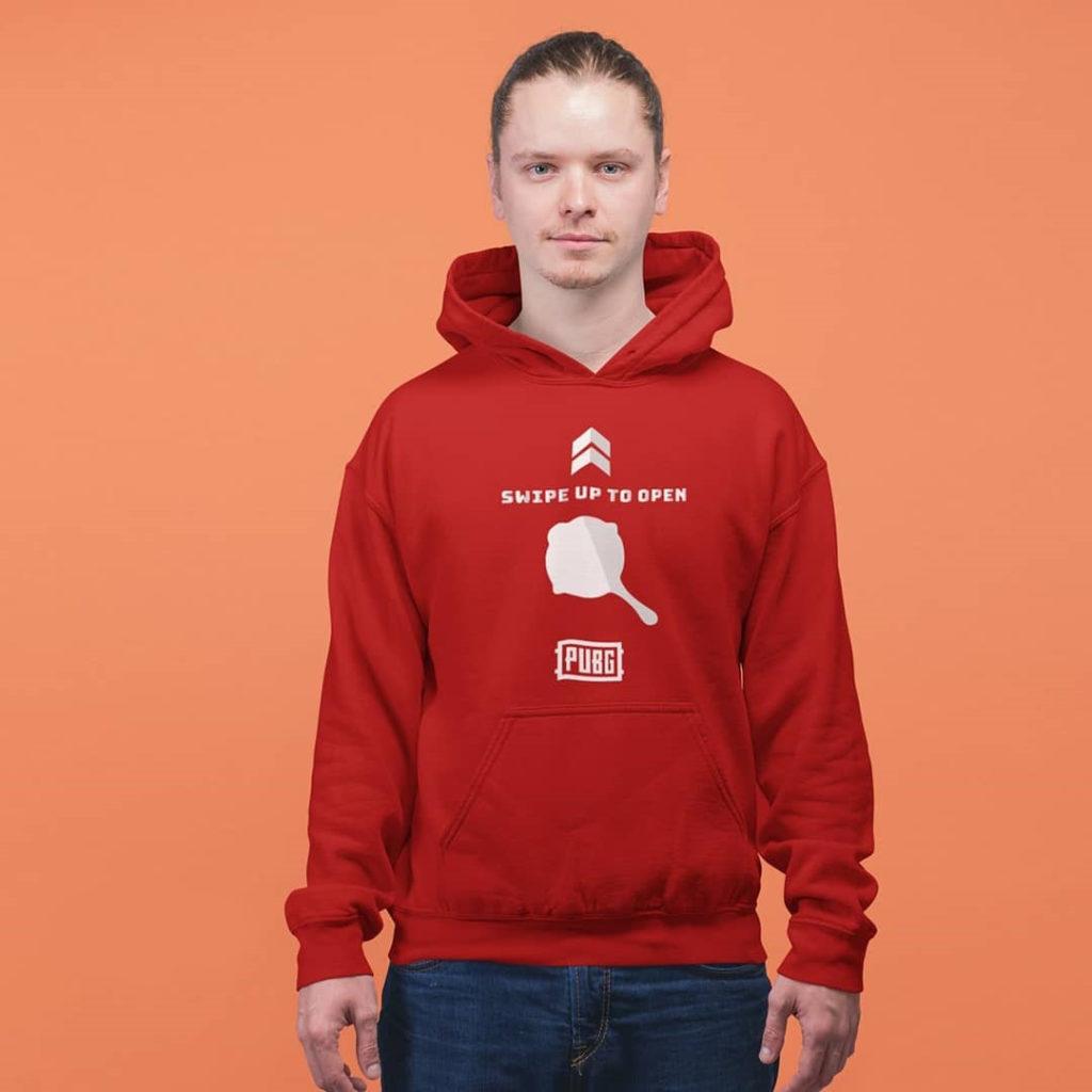 kain katun fleece untuk hoodie