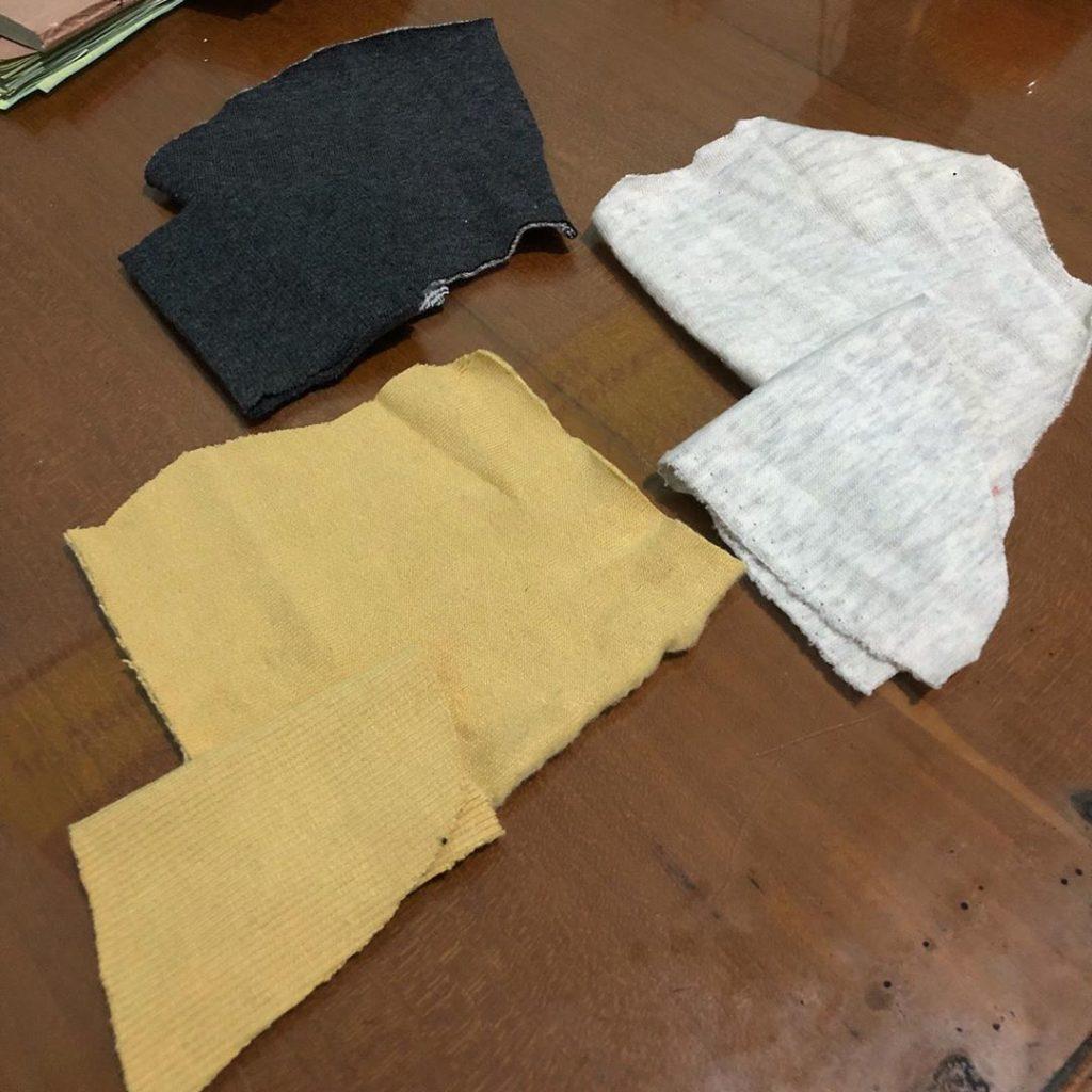karakteristik bahan cotton fleece