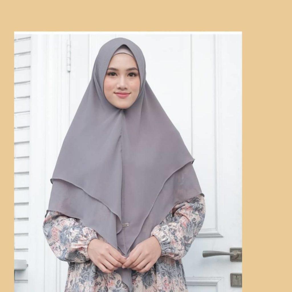 Jilbab Bahan Linen