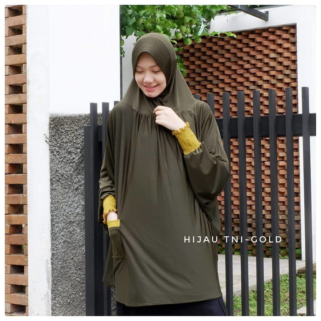 Jilbab Bahan Spandek Soft