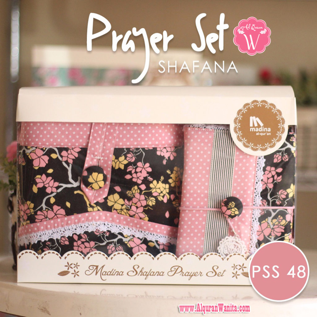 Jual Mukena Seserahan Prayer Set Shafana