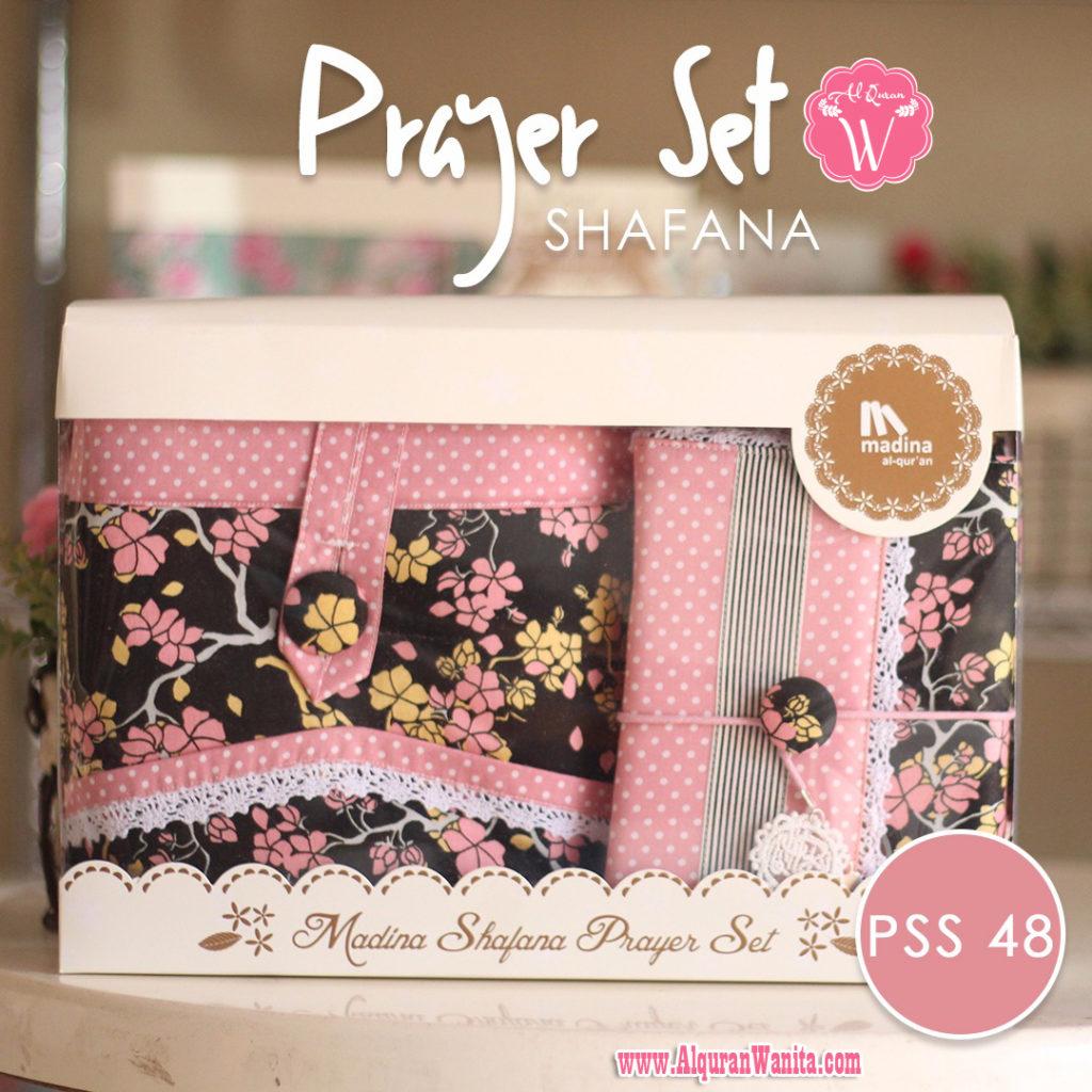 Jual Mukena Seserahan Prayer Set Shafana