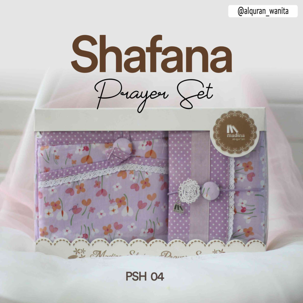 Mukena Seserahan Prayer Set Shafana