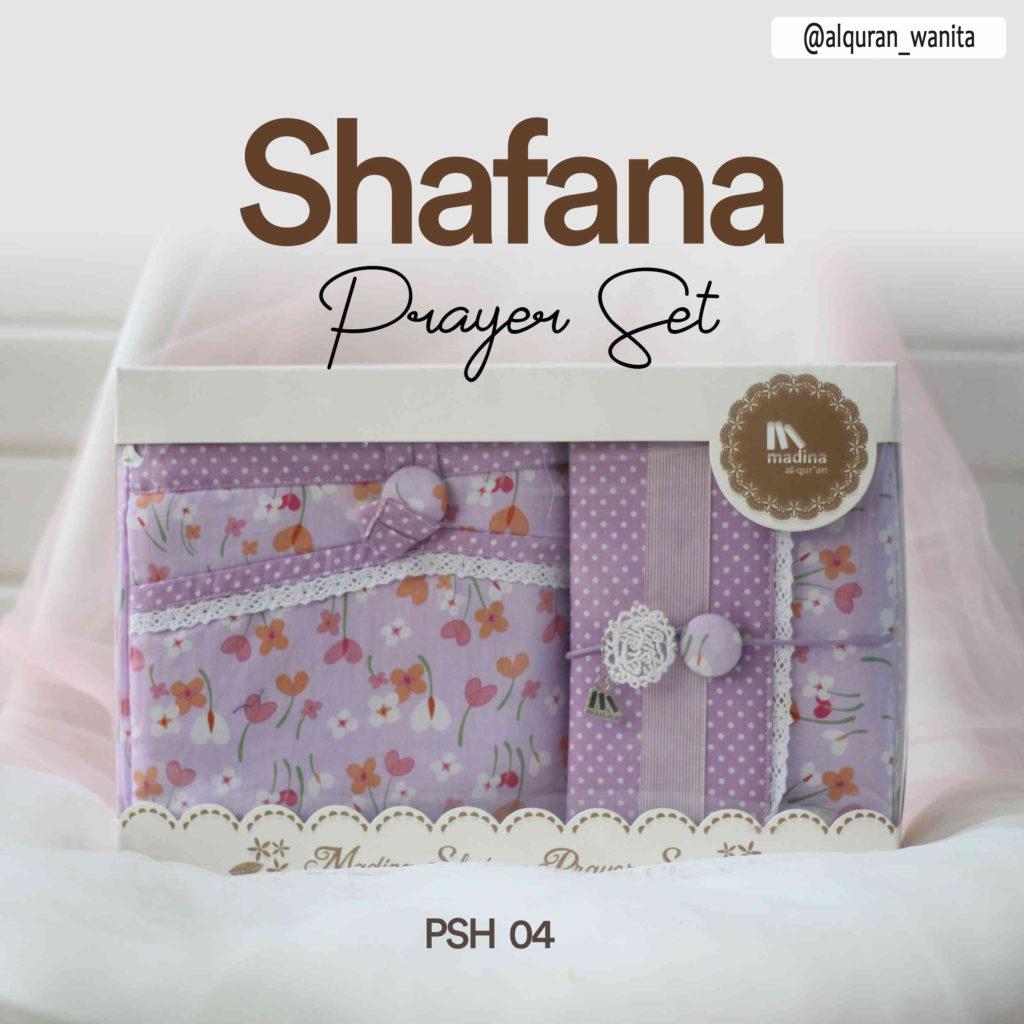 Mukena Seserahan Prayer Set Shafana