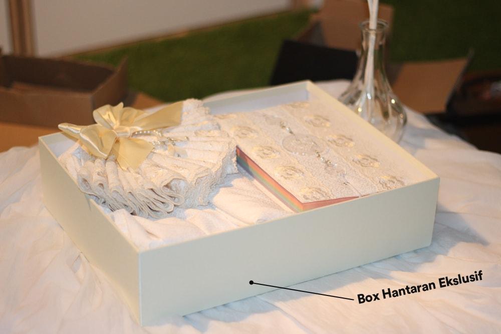 Box Mukena Hantaran Pernikahan