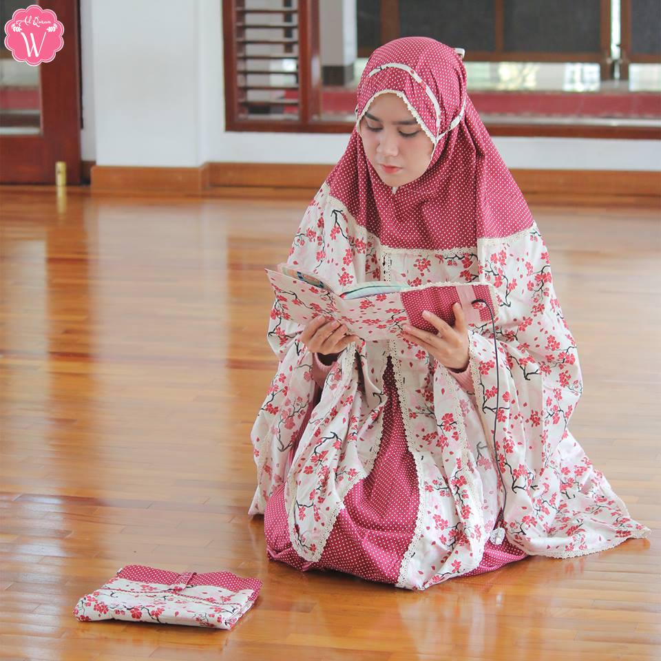 Kreasi Hantaran Pernikahan Mukena
