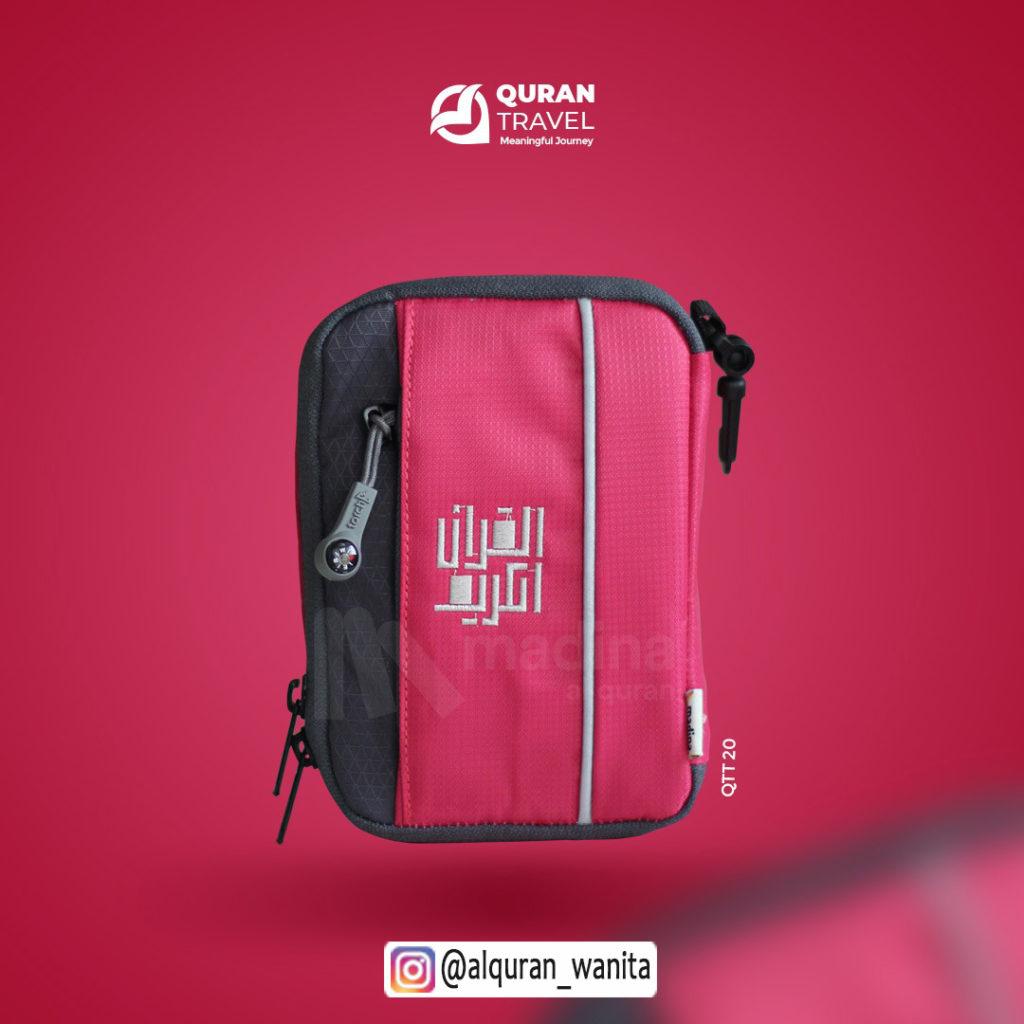 Al Quran Madina Travel Black Pink