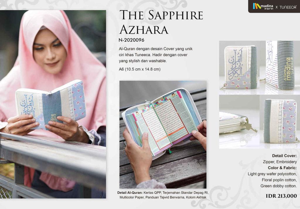 Alquran Zipper The Sapphire Ahzhara