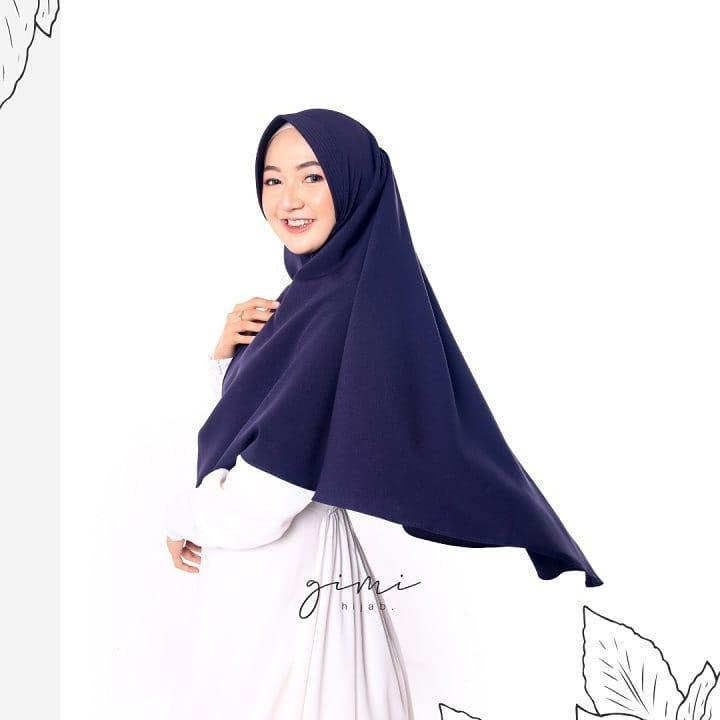 Hijab Khimar Pet Besar