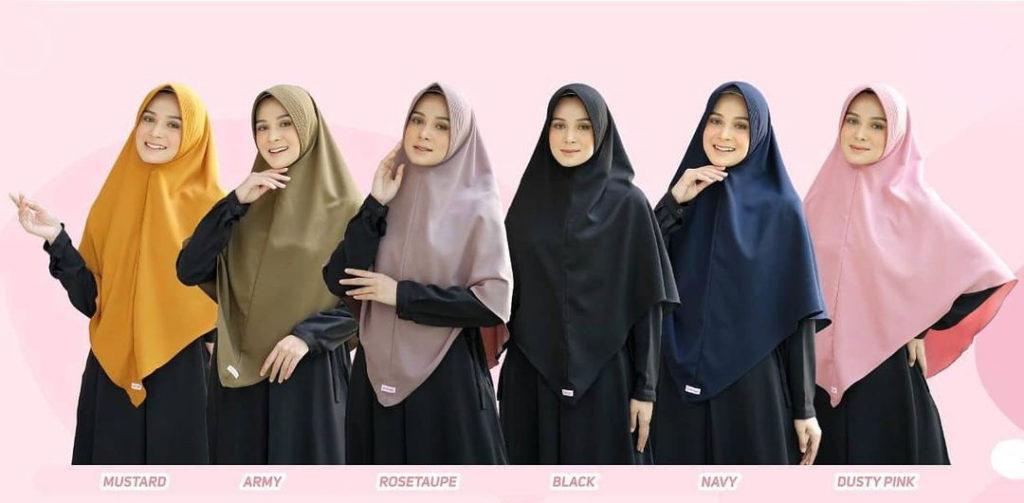 Hijab Khimar Pet Jumbo