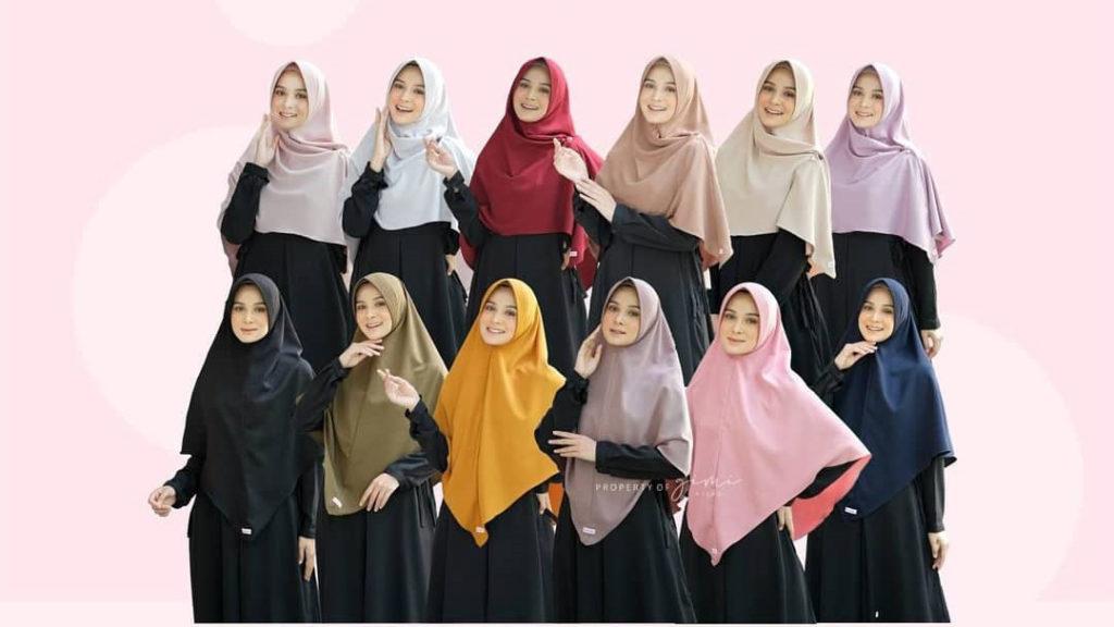 Hijab Khimar Tanpa Pet
