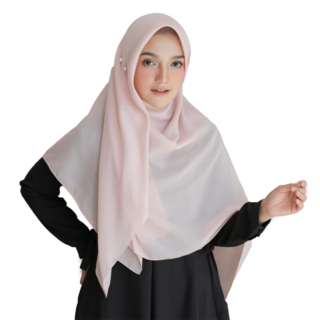 Contoh Hijab Segi Empat Polos Yang Simpel Dan Kekinian 2021