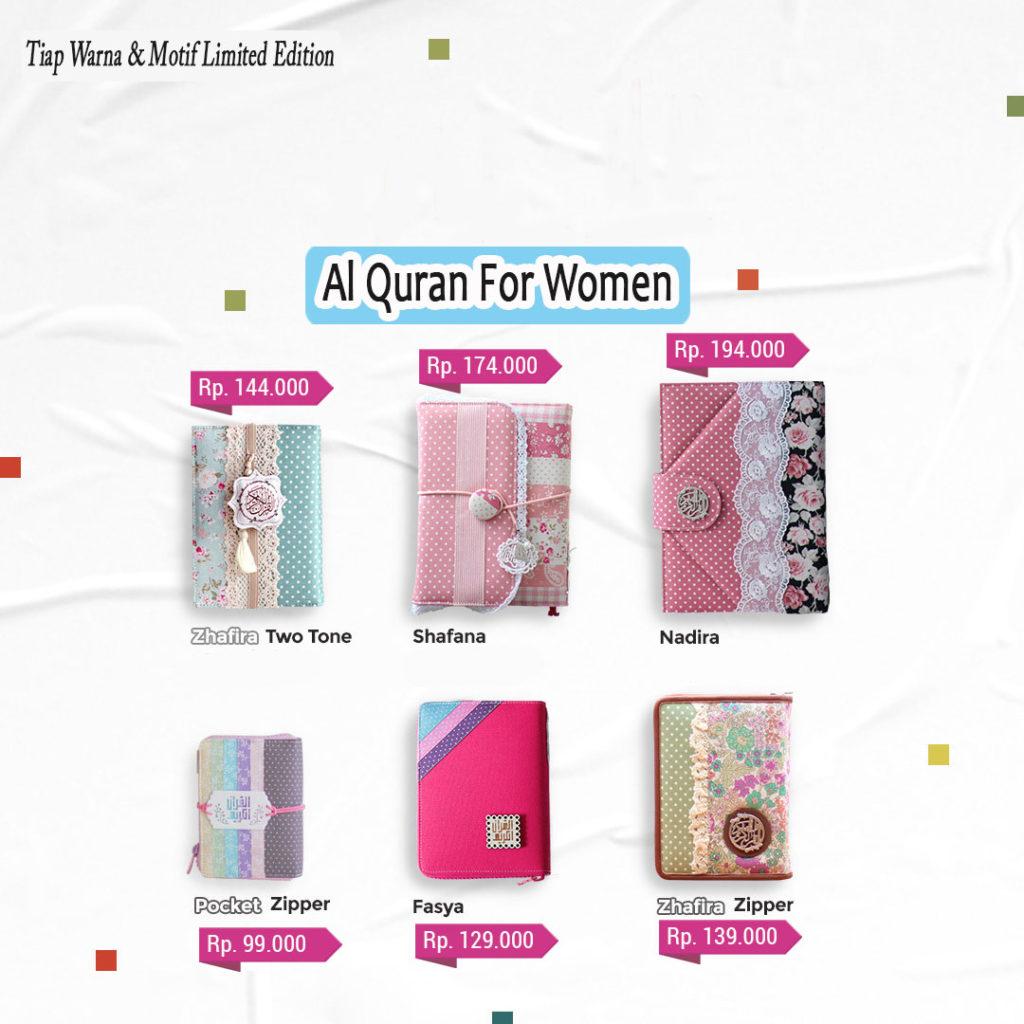Katalog Al Quran Rainbow Cantik