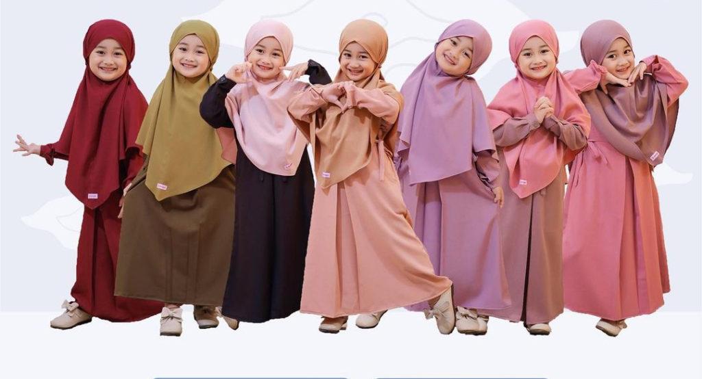 pakaian gamis anak perempuan