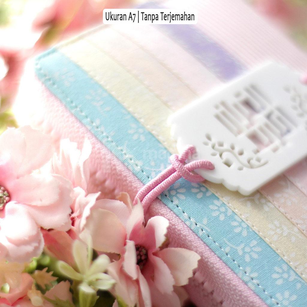 Alquran Mini Cantik Motif Bunga Bunga Yang Mudah di Bawa Berpergian 7