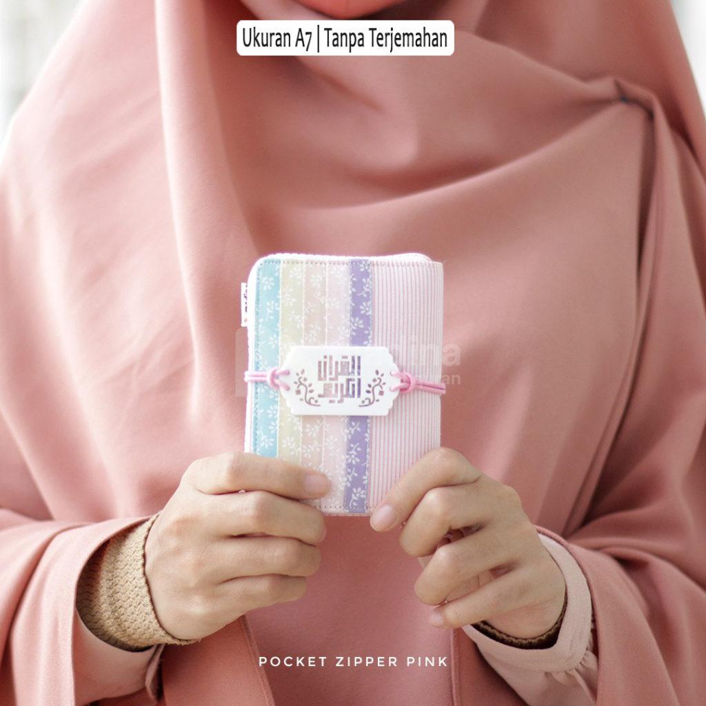 Alquran Mini Cantik Pink Tanpa Terjemahan