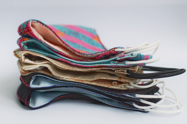 bahan masker kain polos