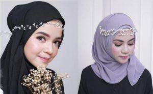 aksesoris hijab headpiece